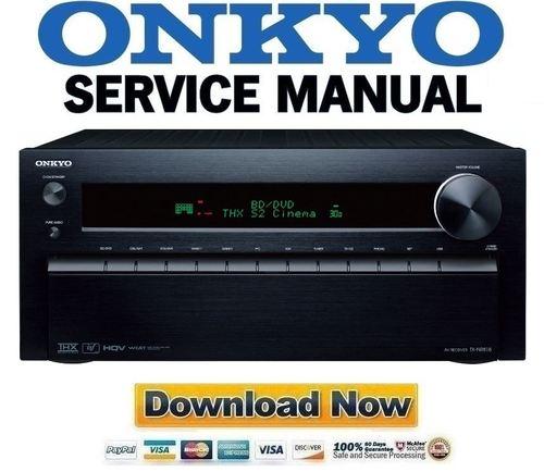 onkyo tx nr818 service manual and repair guide download manuals rh tradebit com onkyo tx-nr818 review onkyo tx-nr818 review