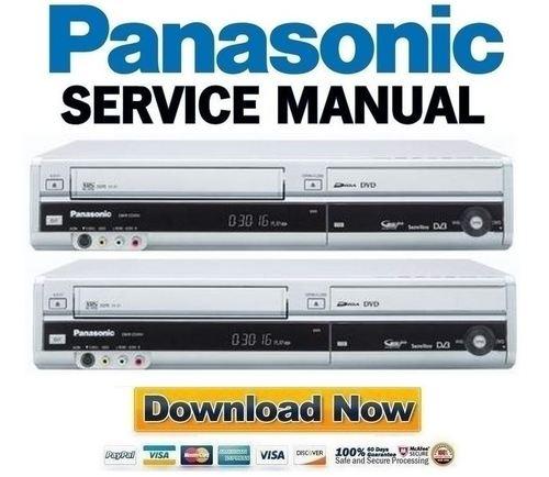 panasonic dmr ez49v ez49veb ez49vec ez49veg service manual downlo rh tradebit com Panasonic DMR Recorders Panasonic VCR