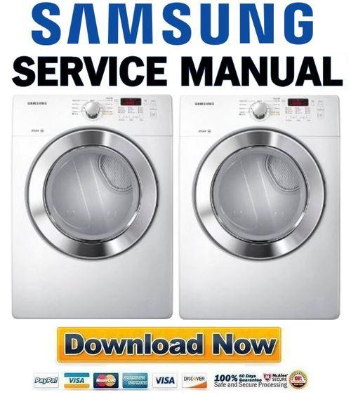 Samsung Dv365etbgwr Service Manual And Repair Guide