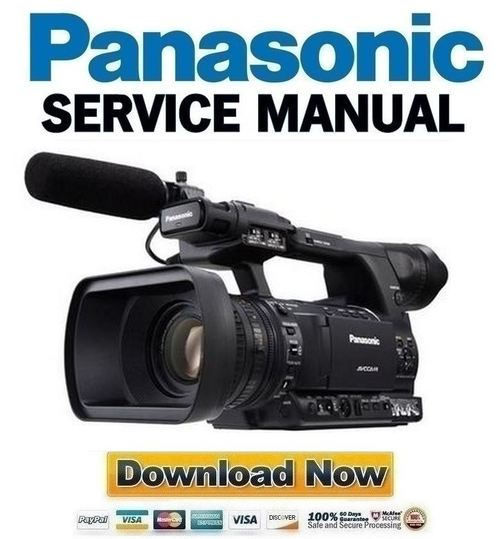 panasonic ag ac160 service manual and repair guide download manua rh tradebit com panasonic g5 manual video control panasonic m10 video camera manual