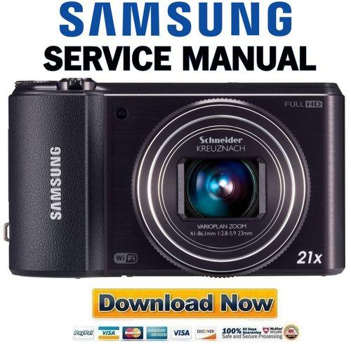 samsung wb850f   wb855f service manual  u0026 repair guide