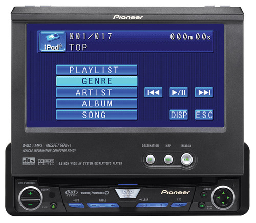 Pioneer avh-p5700dvd user manual | page 77 / 86 | original mode.