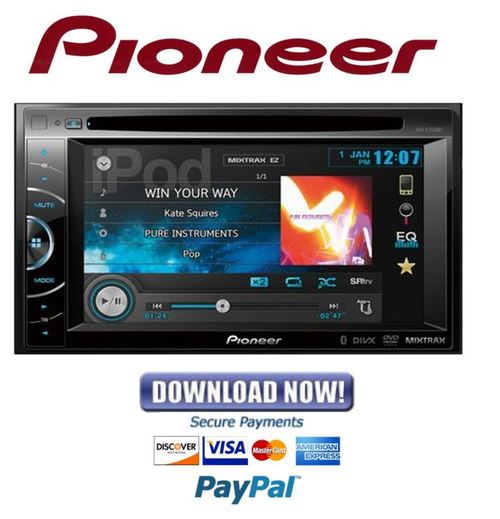 Pay for Pioneer AVH-X2550BT Service Manual & Repair Guide