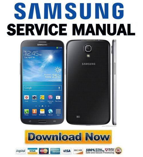 Samsung Galaxy Mega Gt I9200 Service Manual  U0026 Repair Guide