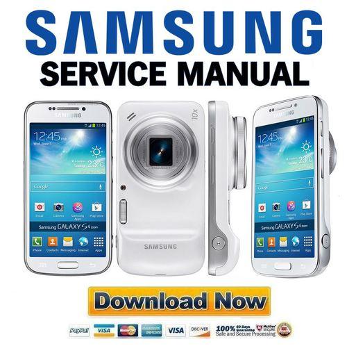 samsung galaxy s4 zoom sm c1010 service manual repair guide dow rh tradebit com Samsung Mobile Telephone Manuals Samsung Mobile Telephone Manuals