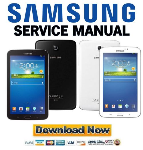 Samsung Galaxy Tab 3 Sm T2100 Service Manual U0026 Repair Manual Guide