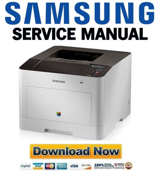 samsung clp 680nd 680dw printer service manual and repair guide d rh tradebit com Samsung Printers Support Samsung All in One Printer