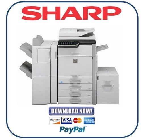 sharp mx 4110n 5110n service manual repair guide download manua rh tradebit com Sharp MX Document Sharp C311