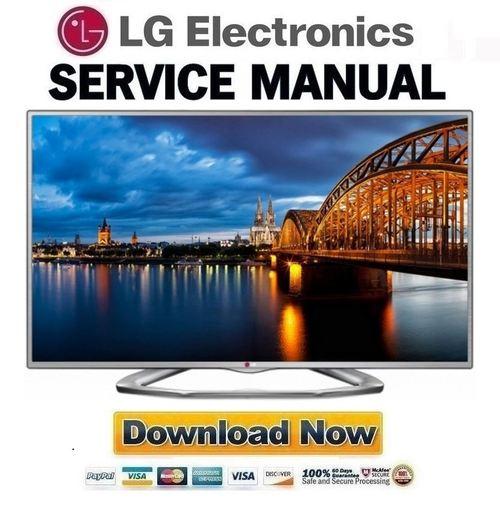LG-42LN613V Service Manual and Repair Guide
