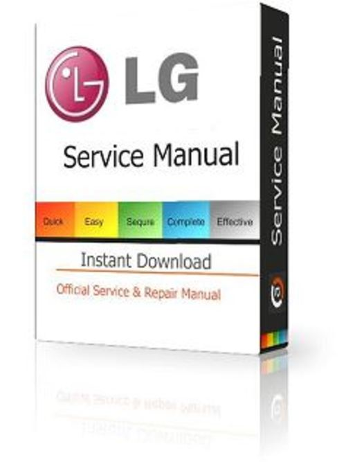 Pay for LG-47LA6620 Service Manual and Repair Guide