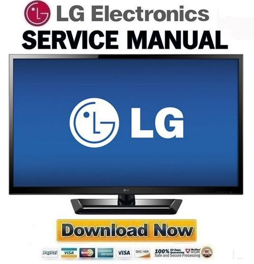 Pay for LG-55LM4600-DB Service Manual and Repair Guide