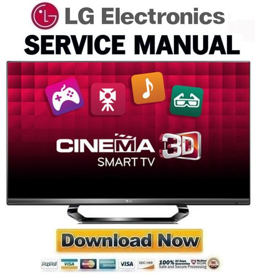 Pay for LG-55LM6400-SA Service Manual and Repair Guide