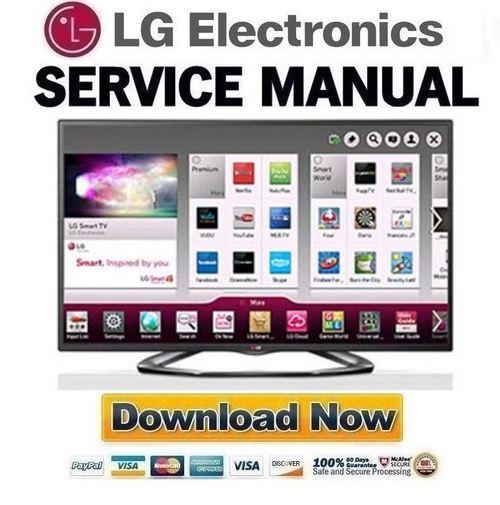 LG-47LA6200-UA Service Manual and Repair Guide