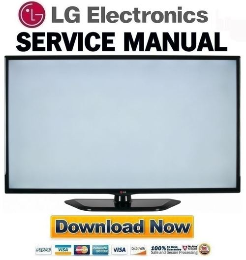 lg 47ln5400 ua service manual and repair guide download manuals rh tradebit com LG 60 Inch Plasma lg plasma tv service manual download