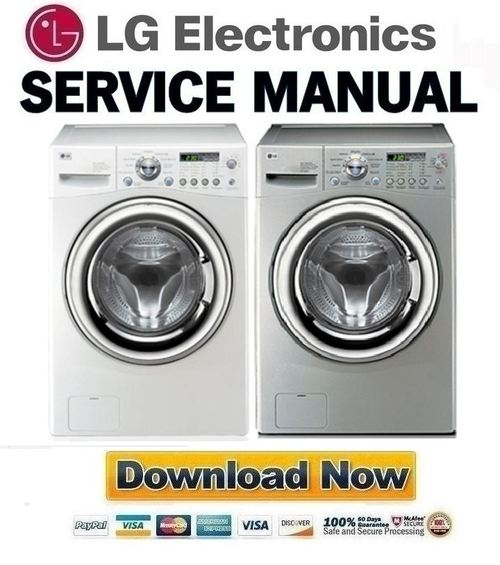 lg front load washing machine instructions