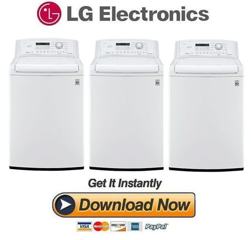Pay For Lg Wt4870cw Service Manual And Repair Guide