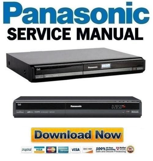 panasonic dmr ez27 ez27eb service manual and repair guide downloa rh tradebit com Panasonic DVD Recorder DMR- EZ48V Panasonic DVD Recorder VHS Combo