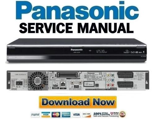 panasonic dmr xs350 xs350eb service manual and repair. Black Bedroom Furniture Sets. Home Design Ideas