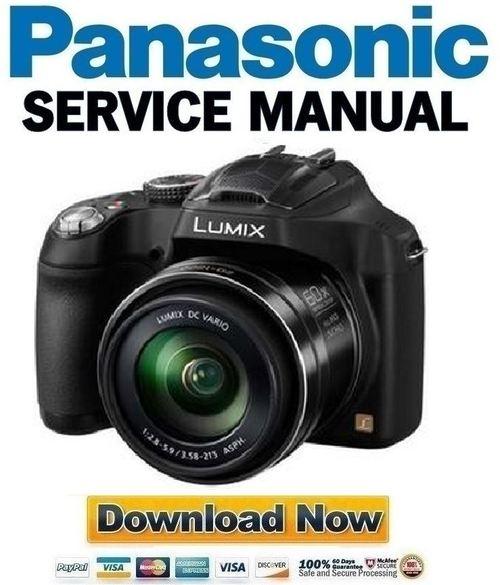 panasonic lumix dmc fz70 fz72 service manual and repair guide dow rh tradebit com panasonic camera manual pdf panasonic camera manuals from panasonic