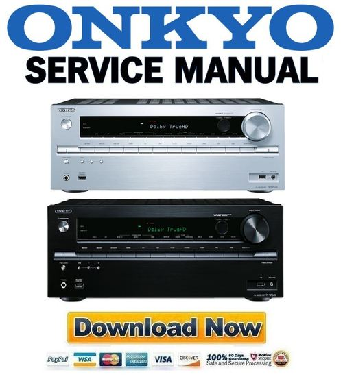 Repair Guides: Onkyo TX NR636 Service Manual And Repair Guide