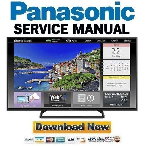 panasonic tc 55as530u 55as540c 55as530ue service manual repair gu rh tradebit com Customer Service Books Auto Repair Manual