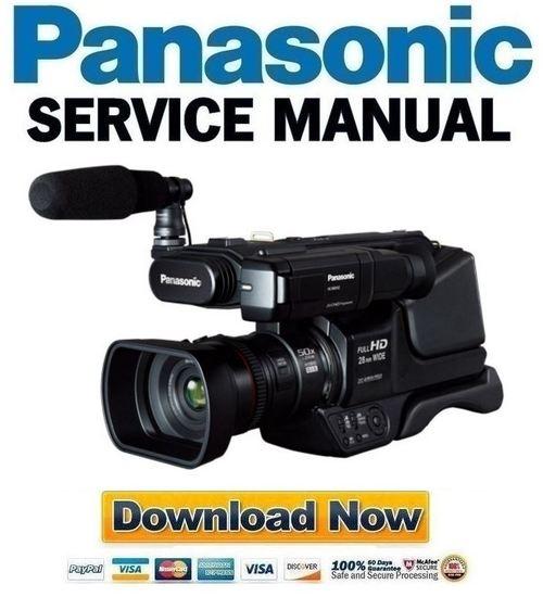 panasonic hc mdh2 mdh2m service manual repair guide download ma rh tradebit com Panasonic TV Manual Panasonic TV Manual