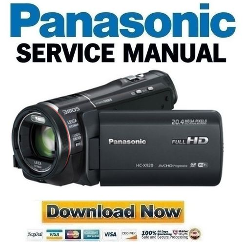 panasonic gs300 manual