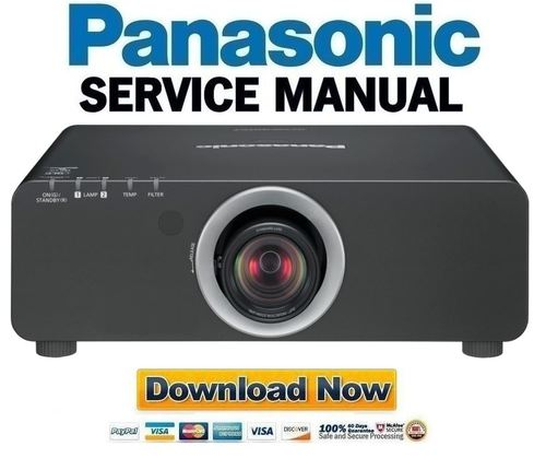 Projector service guide array panasonic pt dz770 service manual and repair guide download manua rh tradebit com fandeluxe Choice Image