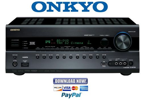 onkyo ht rc550 service manual and repair guide download manuals rh tradebit com onkyo receiver manual ht-r590 onkyo receiver manual tx sr606