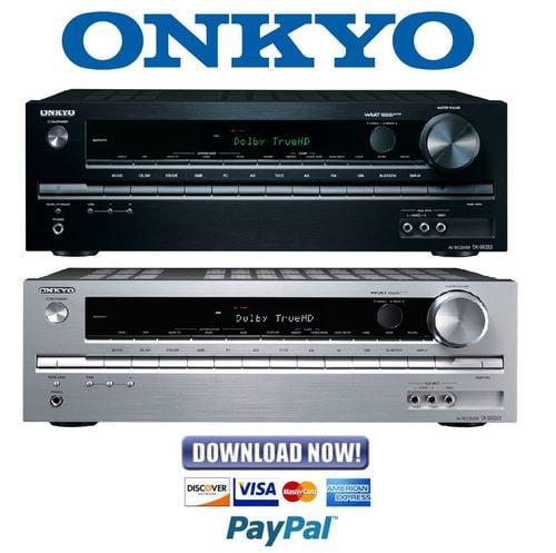 onkyo tx-sr333 service manual and repair guide