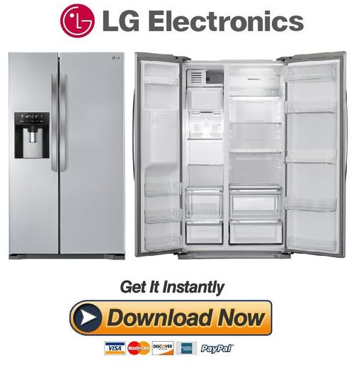 Pay for LG GSL325PVQV Service Manual  & Repair Guide