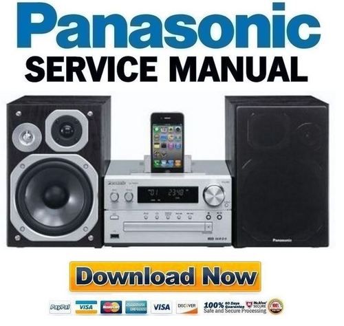 Pay for Panasonic SC PMX5 PMX5EG PMX5DB PMX5DBEB Service Manual