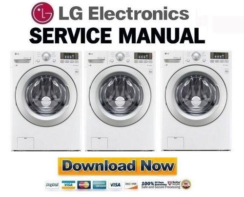 Lg Wm3170cw Service Manual And Repair Guide Download Manuals