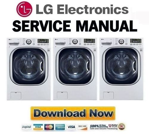 lg wm3997hwa washer dryer combo service manual and repair. Black Bedroom Furniture Sets. Home Design Ideas