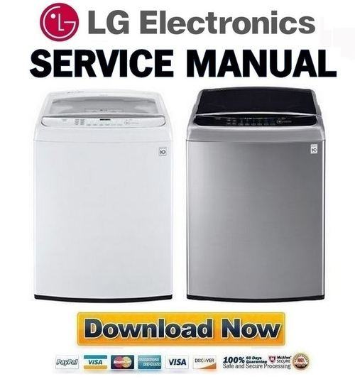 Pay for LG WT1801H WT1801HWA WT1801HVA Service Manual and Repair Guide