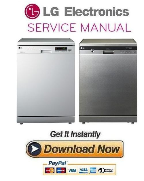 lg ld 1483t4 1484t4 1485t4 1482s4 1482t4 1484w4 dishwasher service rh tradebit com lg dishwasher manual dry lg dishwasher manual directions