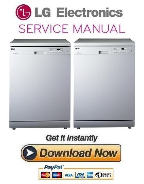lg ld1452wfen3 dishwasher service manual and repair guide. Black Bedroom Furniture Sets. Home Design Ideas
