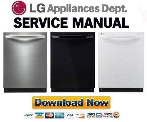 lg ldf7774st ldf7774bb ldf7774ww dishwasher service manual. Black Bedroom Furniture Sets. Home Design Ideas