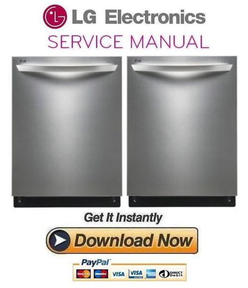 lg ldf8764st dishwasher service manual and repair guide. Black Bedroom Furniture Sets. Home Design Ideas