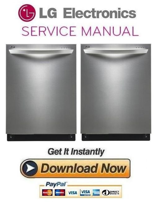 lg ldf8874st dishwasher service manual and repair guide. Black Bedroom Furniture Sets. Home Design Ideas