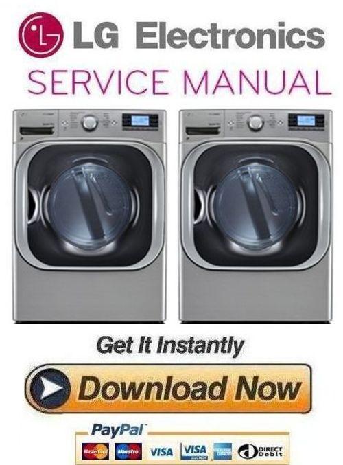 lg dlgx8501v dlgx8501w service manual and repair guide. Black Bedroom Furniture Sets. Home Design Ideas