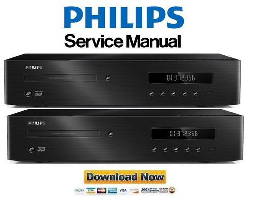 Pay for Philips BDP9700 Blu Ray Player Service Manual