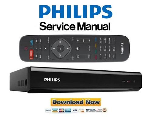 Philips Hdr5750 Hdr5710 Video Recorder Service Manual