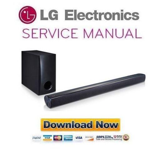 Lg Nb2540 Sound Bar Service Manual And Repair Guide