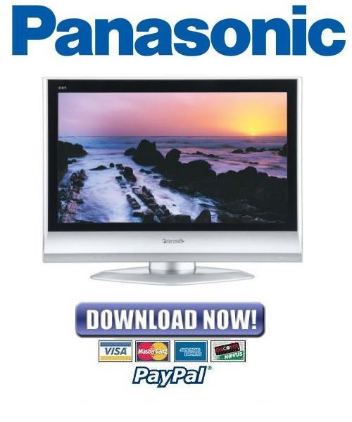panasonic tc 26lx60c tc 32lx60c service manual repair. Black Bedroom Furniture Sets. Home Design Ideas