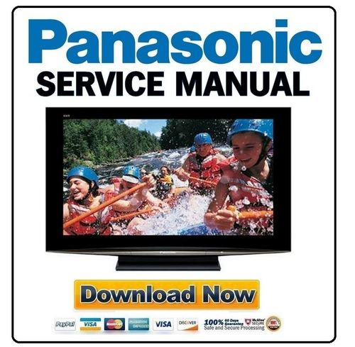 panasonic th 42pz800u service manual repair guide. Black Bedroom Furniture Sets. Home Design Ideas