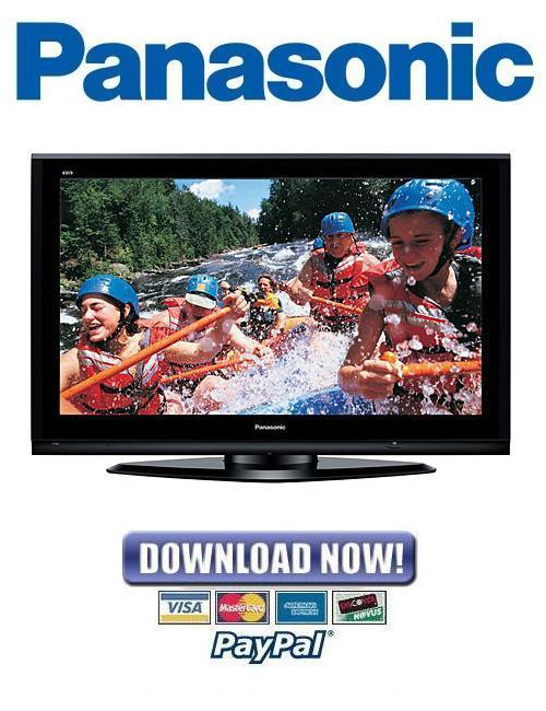 Pay for Panasonic TH-50PZ750U Service Manual & Repair Guide PACK