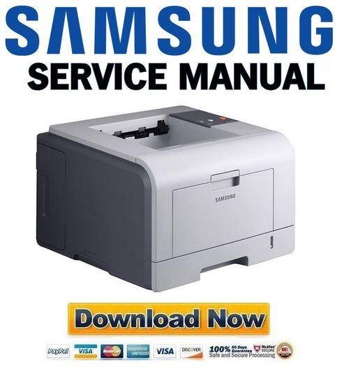 Samsung Ml-3050 3051n Service Manual Repair Guide