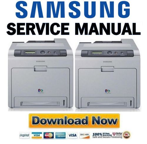 Pay for Samsung CLP-620ND 670N 670ND Service Manual & Repair Guide