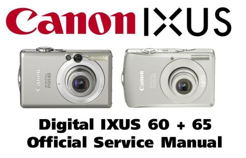 canon digital ixus 60   65 reparaturanleitung